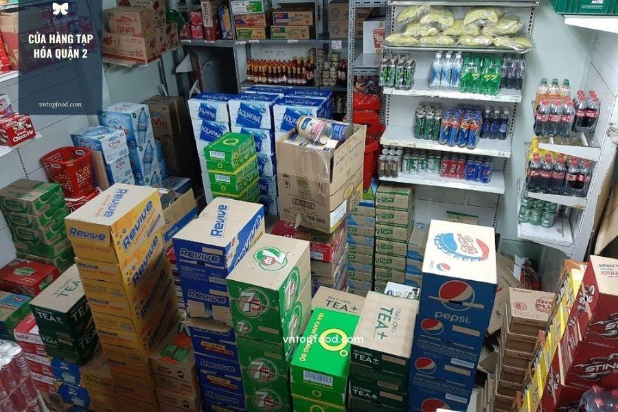 Cửa hàng tạp hóa quận 2