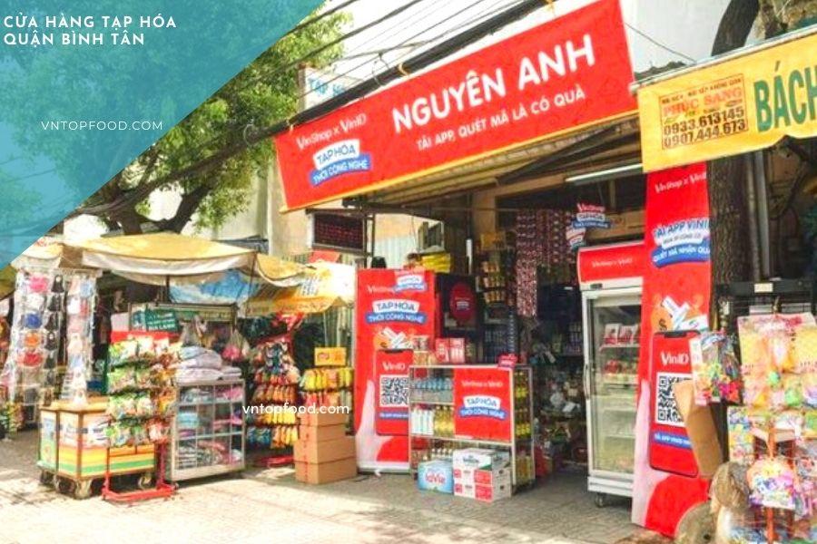 Cửa hàng tạp hóa quận Bình Tân