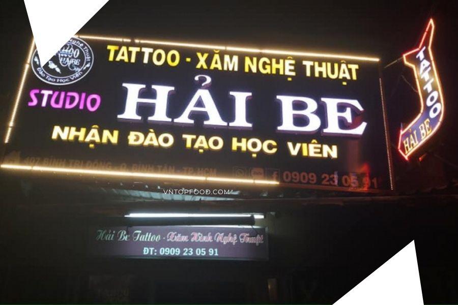 Địa chỉ Tiệm xăm đẹp nổi tiếng ở quận Bình Tân