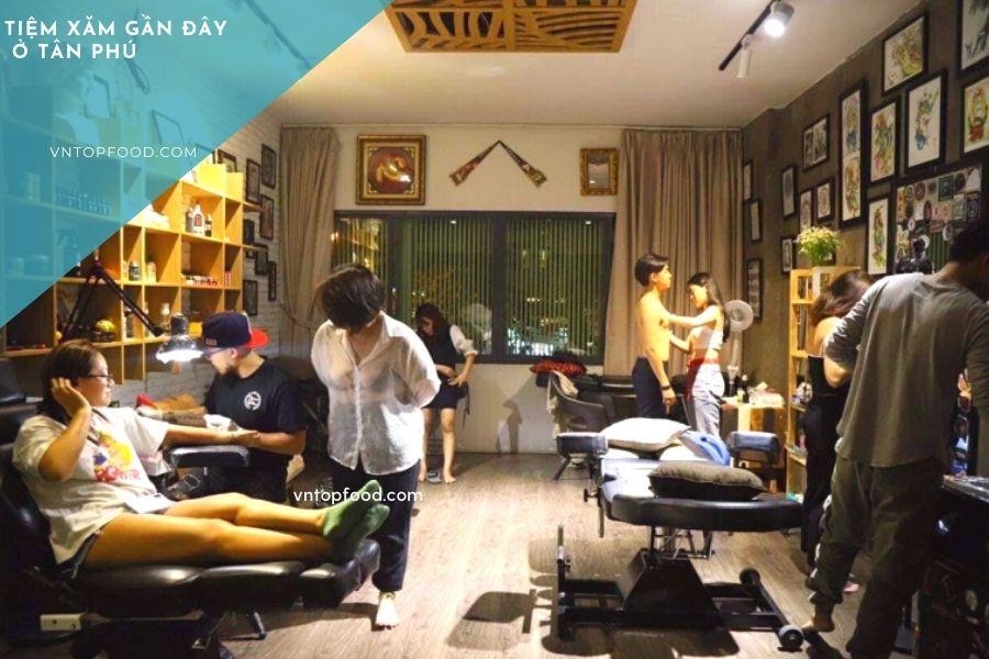 Địa chỉ Tiệm xăm đẹp nổi tiếng ở quận Tân Phú