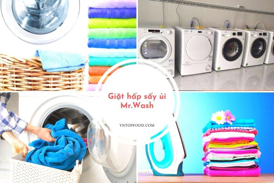 Giặt hấp sấy ủi Mr.Wash