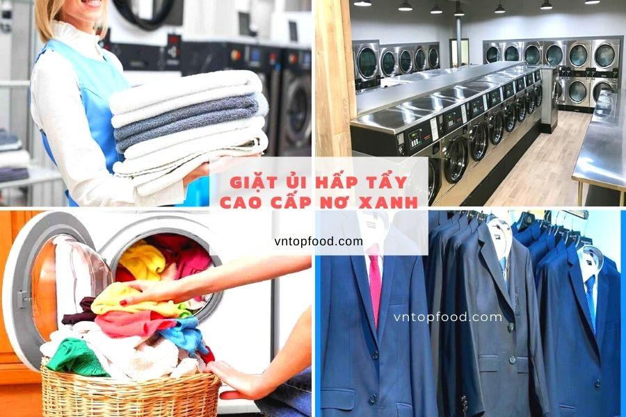 Giặt ủi hấp tẩy cao cấp Nơ Xanh