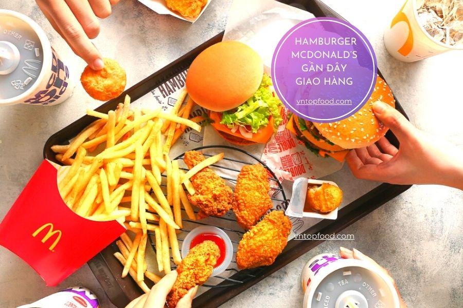 Hamburger McDonald's gần đây việt nam