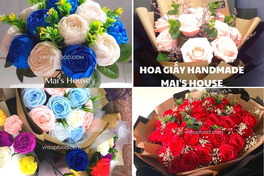 Hoa Giấy Handmade Mai's House