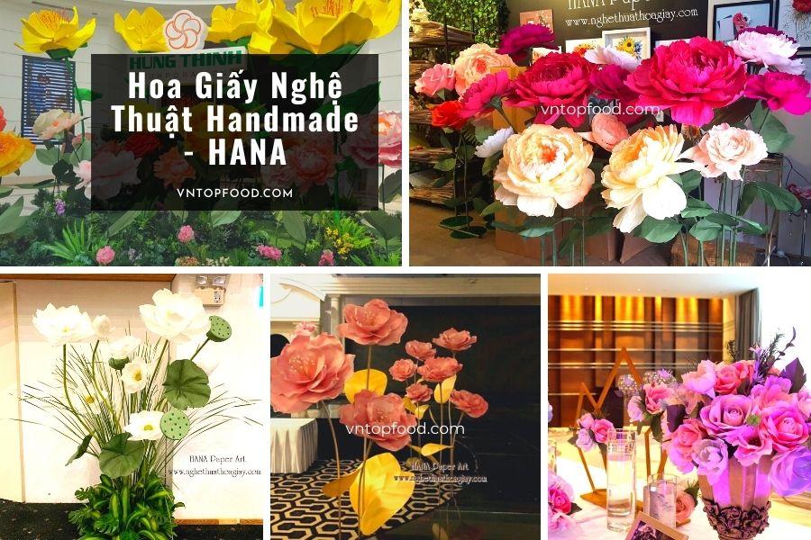 Hoa Giấy Nghệ Thuật Handmade - HANA