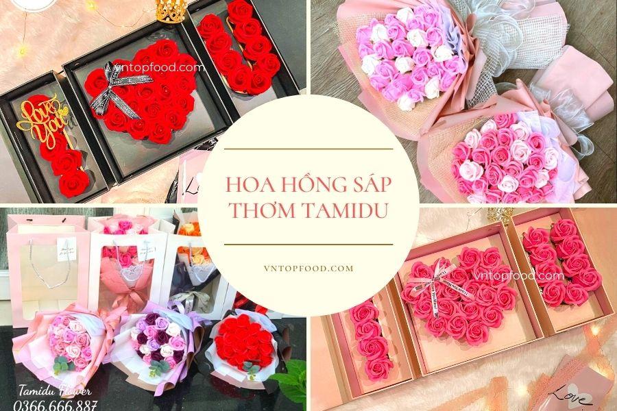 Hoa Hồng Sáp Thơm Tamidu