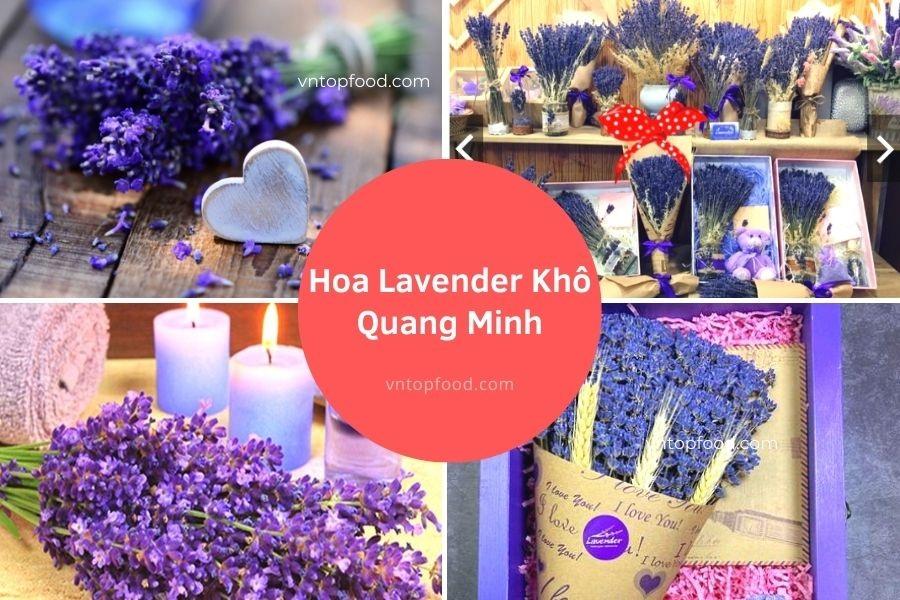 Hoa Lavender Khô Quang Minh