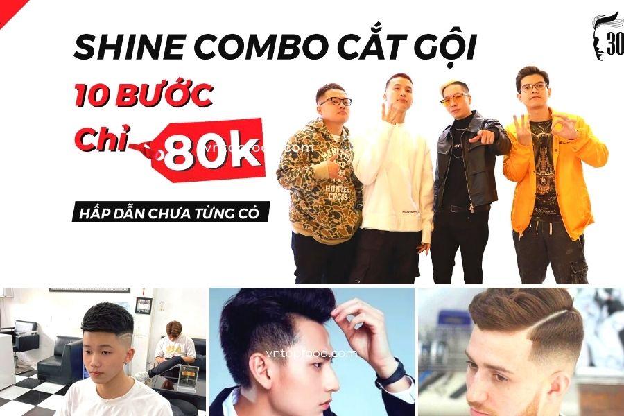 Hớt tóc 30shine – Chuỗi salon cắt tóc đẹp ở TPHCM