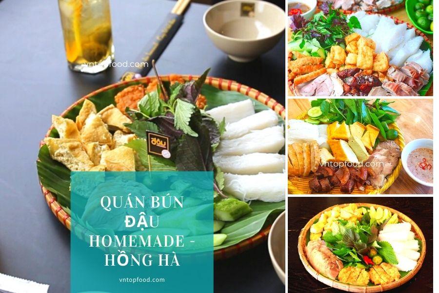 Quán Bún Đậu Homemade - Hồng Hà
