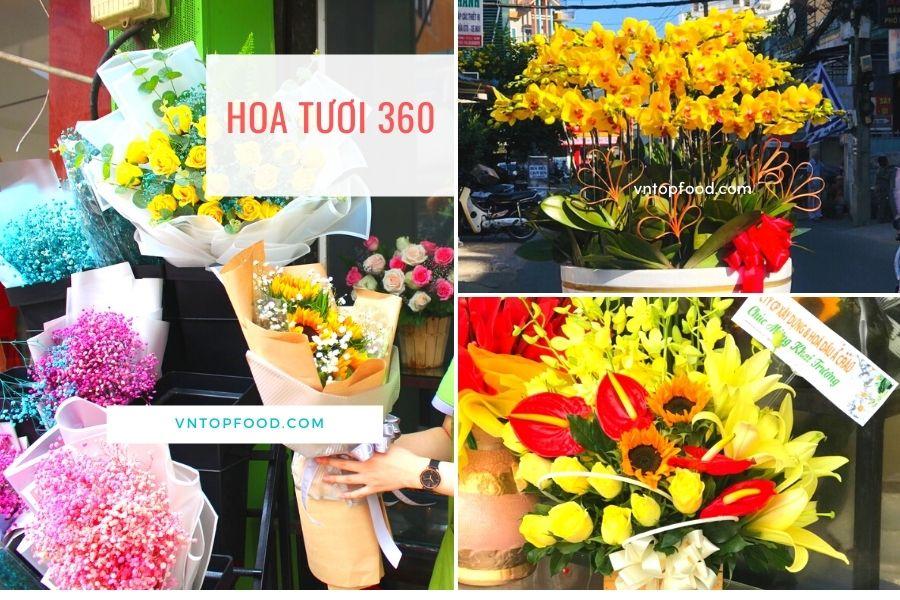 Shop hoa tươi 360 giao hàng tận nơi