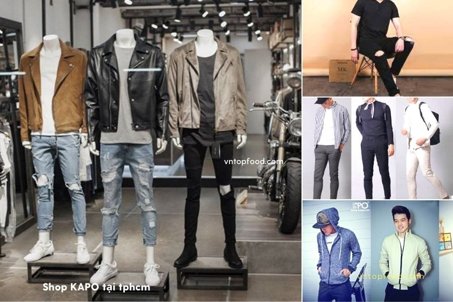 Shop quần áo nam KAPO