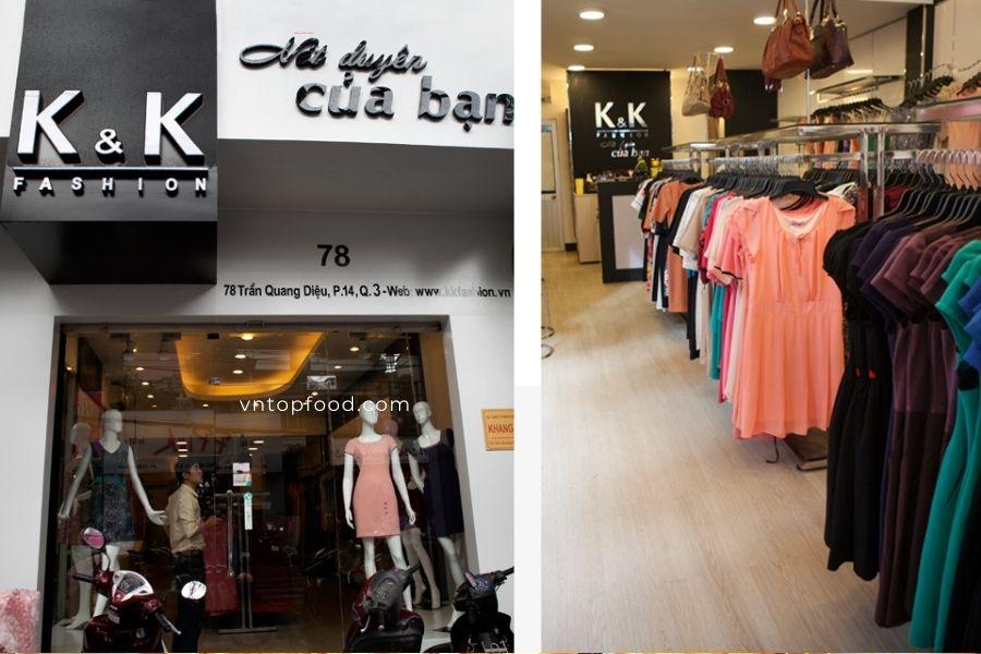Shop quần áo nữ K&K Fashion