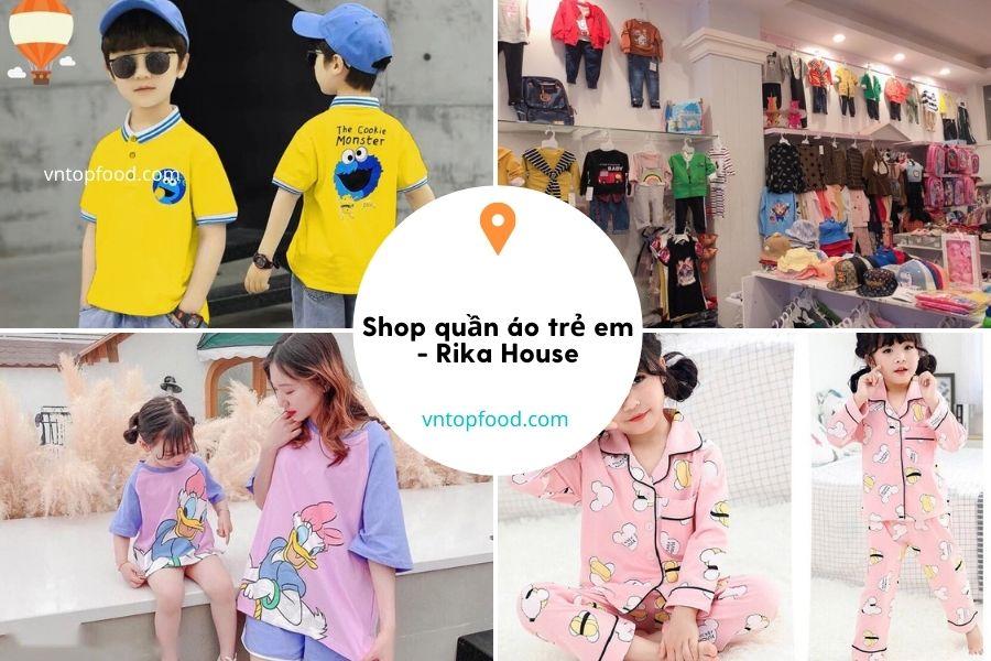 Shop quần áo trẻ em - Rika House