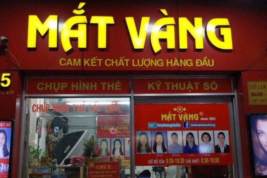 Tiệm chụp ảnh thẻ đẹp ở quận Tân Bình
