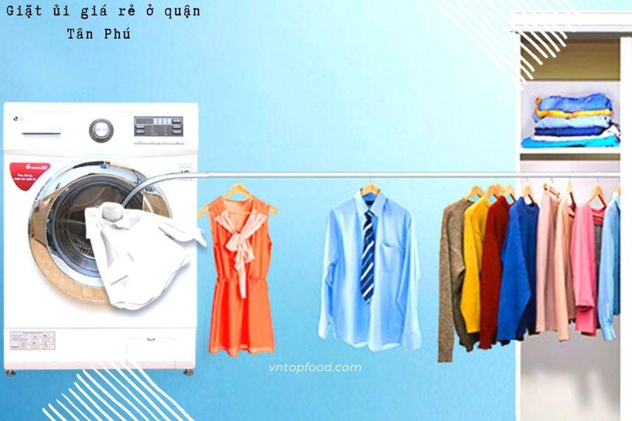 Tiệm giặt ủi gần đây ở quận Tân Phú