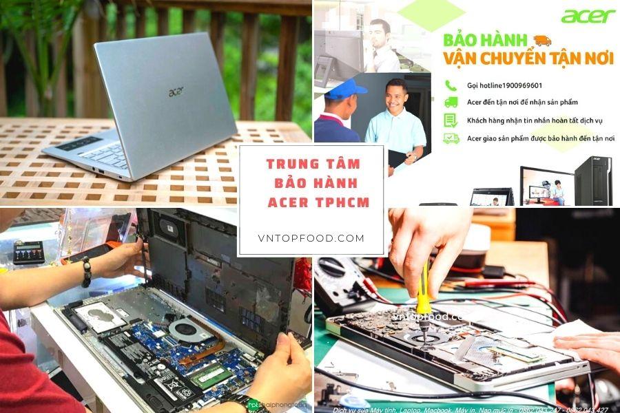 Trung tâm bảo hành Acer TPHCM