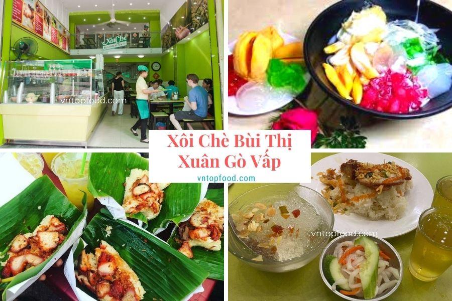 Xôi Chè Bùi Thị Xuân Gò Vấp