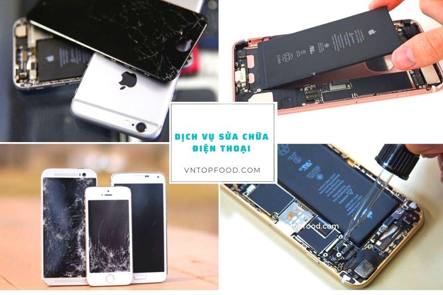 Các dịch vụ sửa chữa điện thoại