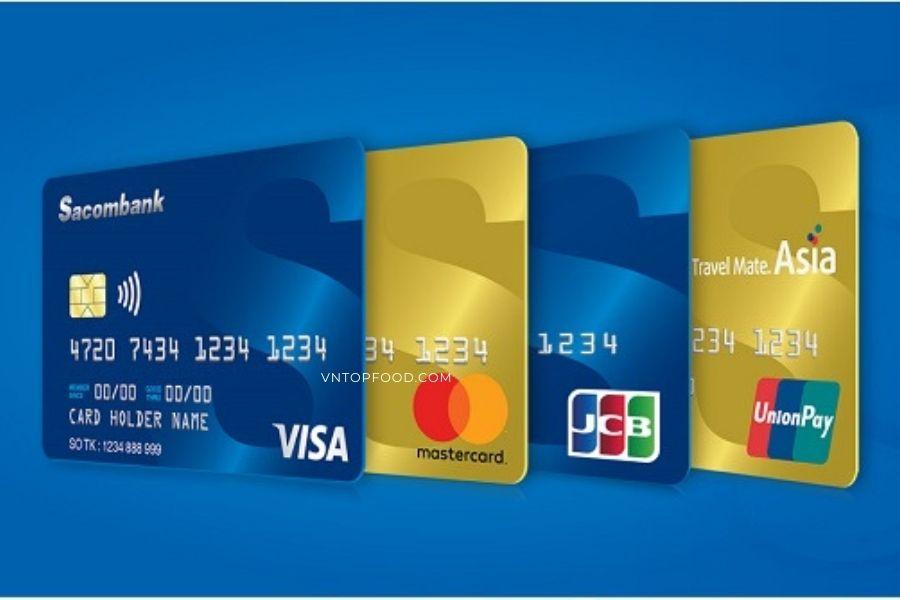 Các sản phẩm thẻ tại ngân hàng