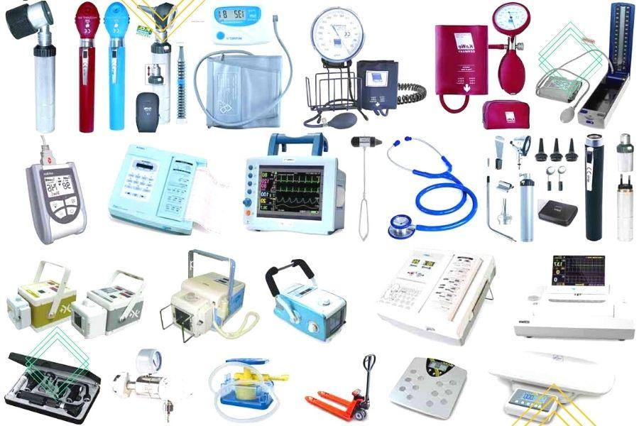 Danh mục các mặt hàng dụng cụ y khoa
