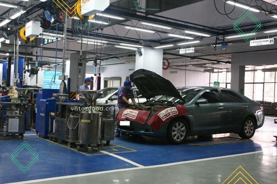 Địa chỉ gara sửa chữa xe oto gần đây ở quận 10