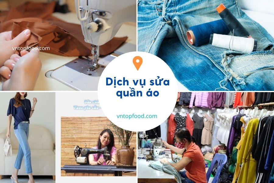 Dịch vụ sửa quần áo