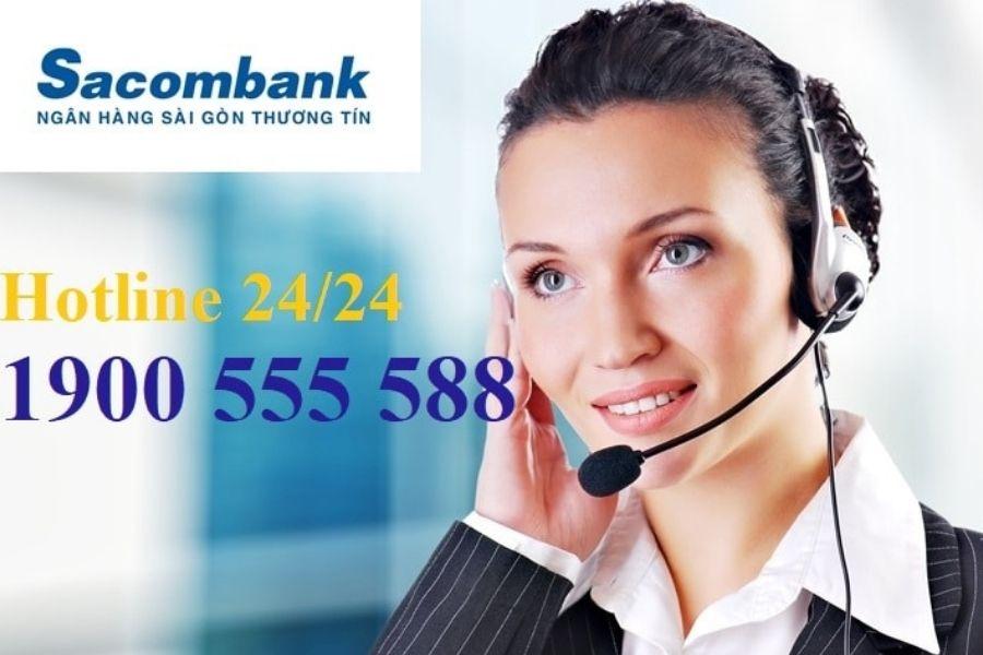 Số tổng đài chăm sóc khách hàng Sacombank