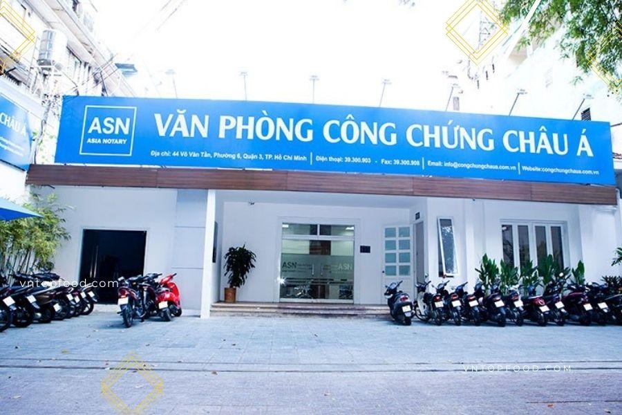 Văn Phòng Công Chứng Châu Á