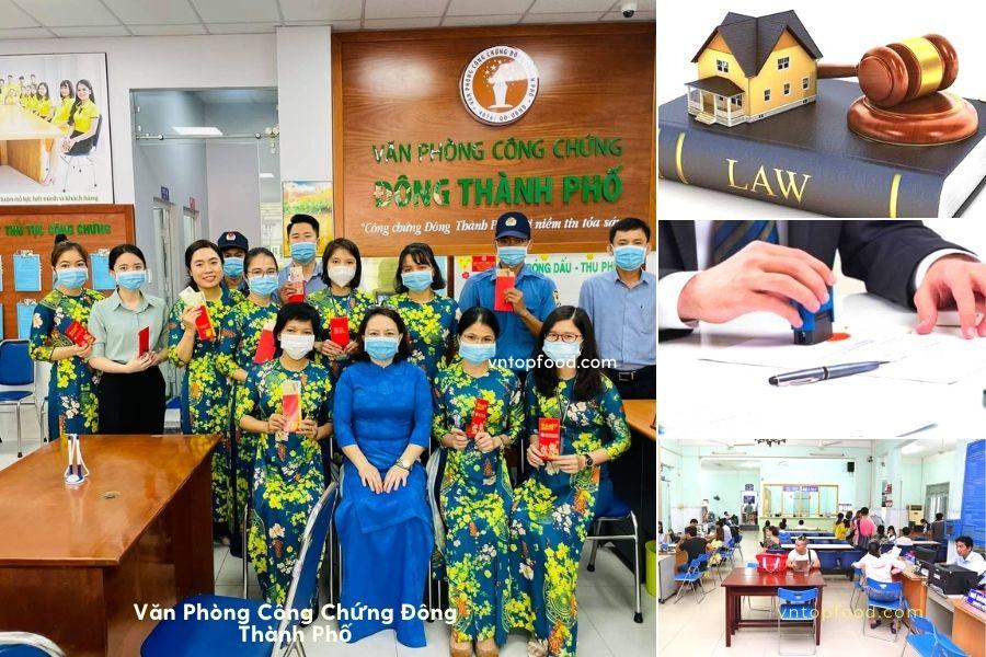 Văn Phòng Công Chứng Đông Thành Phố