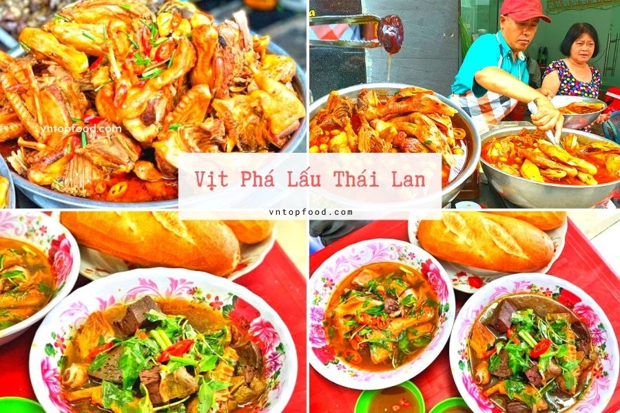 Vịt Phá Lấu Thái Lan