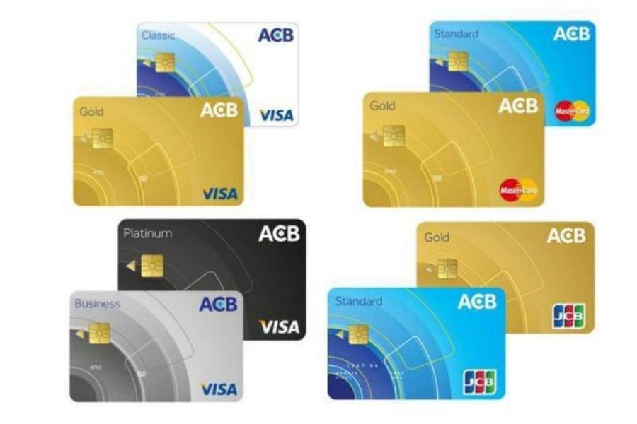 Các sản phẩm thẻ tại ngân hàng ACB