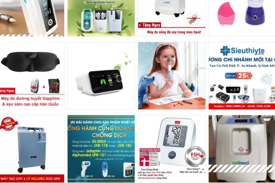 Công ty cung cấp thiết bị y tế