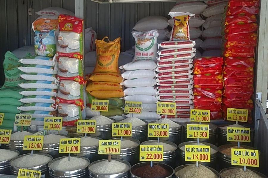 Địa điểm tiệm gạo gần đây ở quận 3