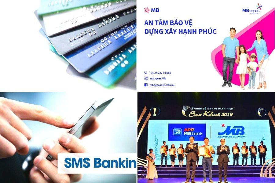 Dịch vụ cung cấp và hổ trợ ở  MBbank