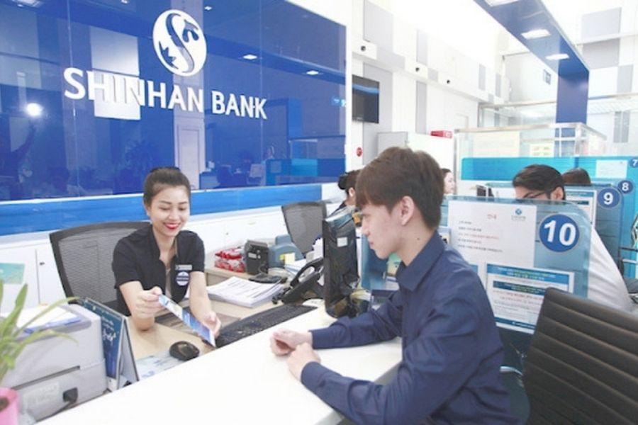 Lịch làm việc của ngân hàng Shinhan