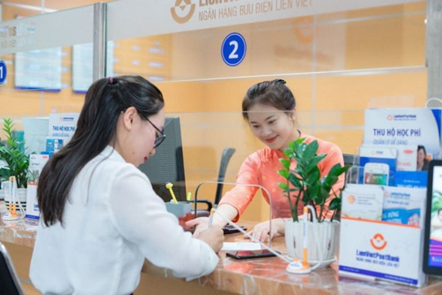 Lịch làm việc của ngân hàng của ngân hàng Liên Việt