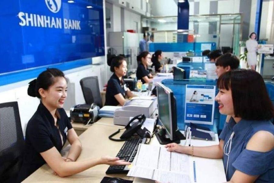 List chi nhánh PGD ngân hàng Shinhan bank