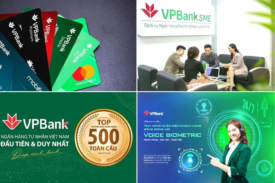 Những sản phẩm dịch vụ tại ngân hàng VPbank