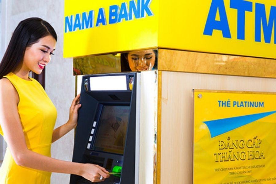 Thẻ Nam Á bank có thể rút tiền ở nhiều ngân hàng khác nhau