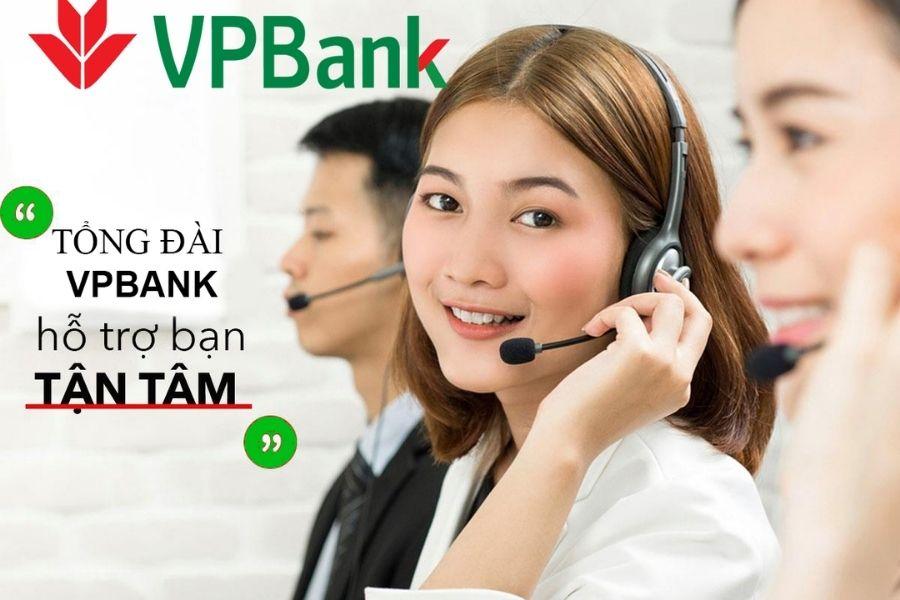 Tổng đài hotline của ngân hàng VPBank