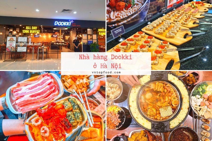 Nhà hàng Dookki gần đây ở Hà Nội