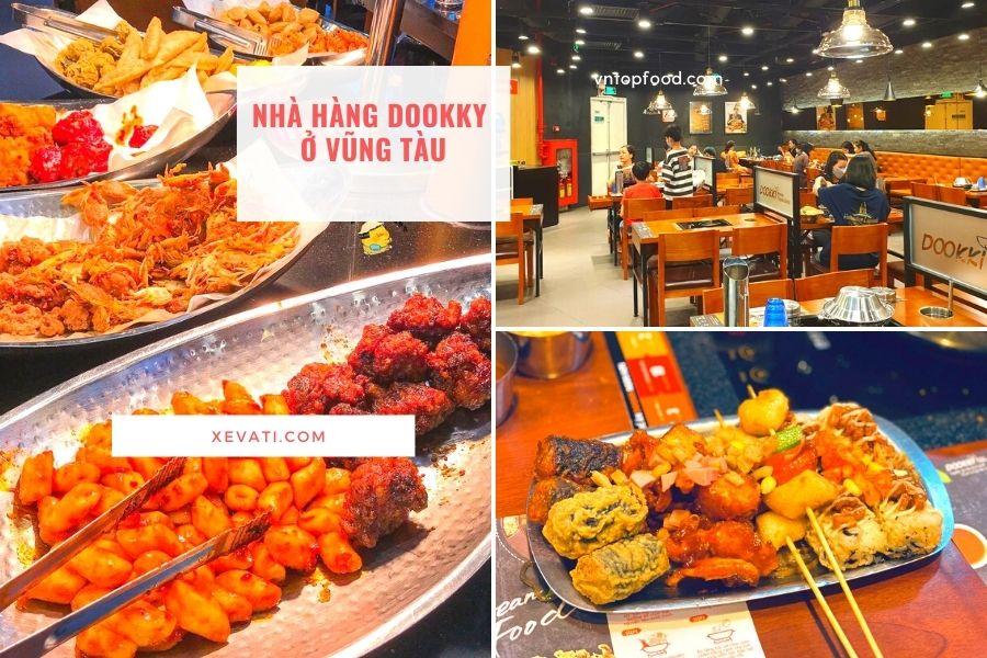 Nhà hàng Dookki gần đây ở Vũng Tàu