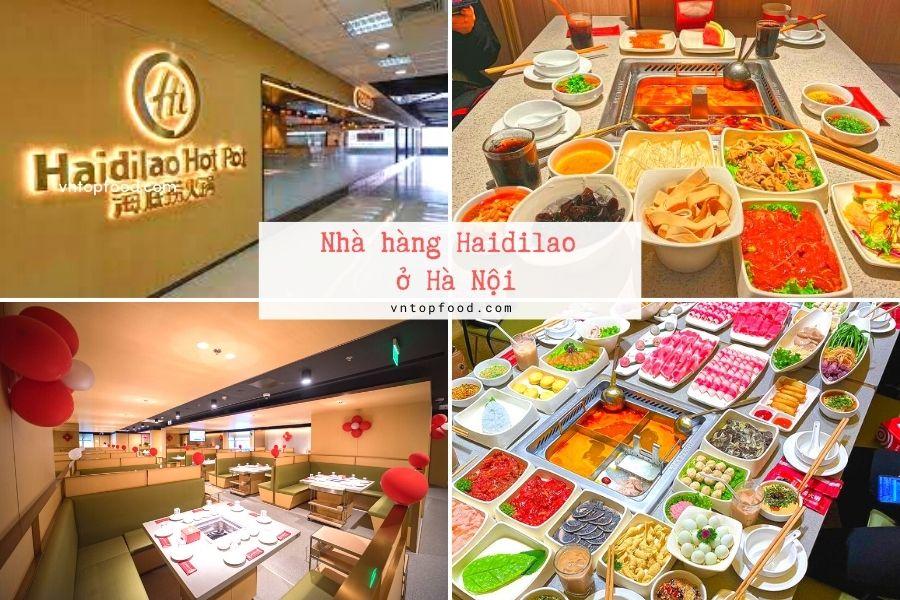 Nhà hàng Haidilao gần đây ở Hà Nội