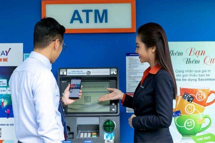 Thẻ ATM của ngân hàng SCB có thể rút tiền được ở tất cả các ngân hàng khác